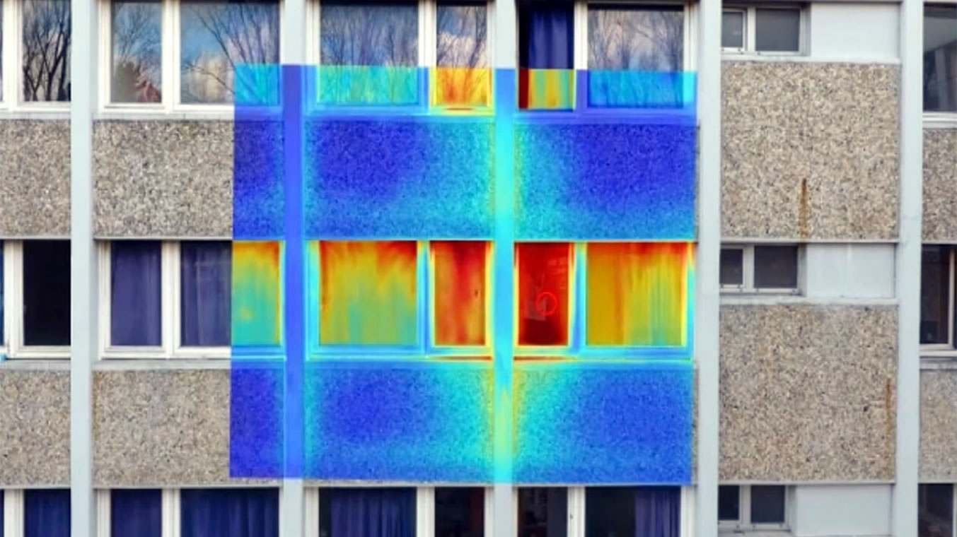 Drone Infrared Thermal Imaging Survey and Inspection Services